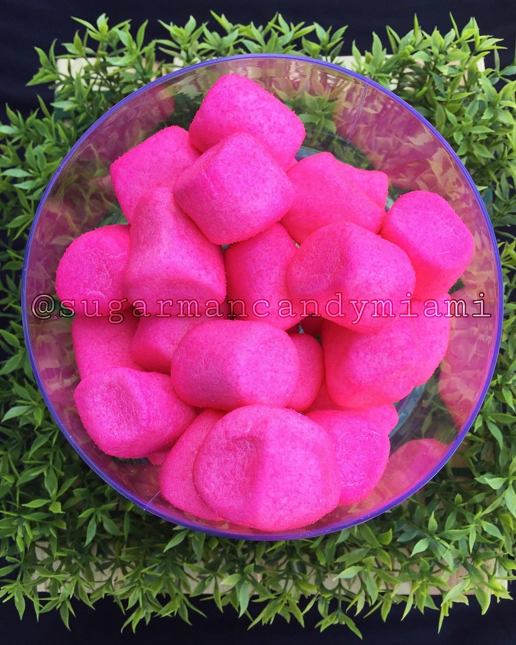 Sugar Marshmallows Hot Pink / 12 oz
