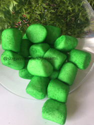Sugar Marshmallows Green 144 oz/CASE