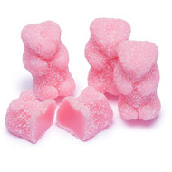 Pink Sour Watermelon Gummi Bears CASE  26.4 LBS