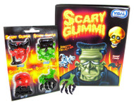 Scary Gummi Candy 72 ct / 1 PACK