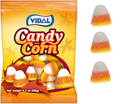 Vidal Gummi Candy Corn 4.5 oz/ 14ct CASE
