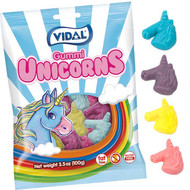 Vidal Gummi Unicorns 3.5 oz/ 14ct CASE