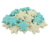 Gummi Glitter Snowflakes 26.4 Lbs. CASE