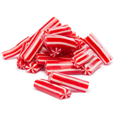 Candy Canes Licorice 26.4 lbs. CASE / Strawberry Flavor