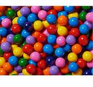 Sixlets Tie Dye Mix  2 Pound/ Candy Coated Chocolate