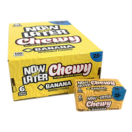 Now And Later Chewy Banana 24ct/ 1 Pack