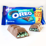 Milka Oreo Chocolate Mint Candy Bar King Size