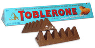 Toblerone Swiss Milk Chocolate with salted Caramelized almonds and honey CASE/80ct Bars