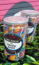 CS Twisty Pops Rainbow 24ct/Pack