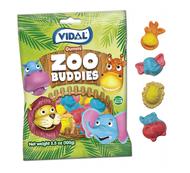 Vidal Gummi Zoo Buddies  Case 14 bags x 3.5 oz /each