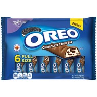 Oreo Milk Chocolate candy bars 6 Full Size/ Pack 8ct