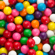 """GumBalls Small 0.5"""" inch Assorted 2.5 Pounds"""