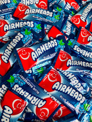 Airheads Mini Blue Raspberry Flavor 25 lbs CASE