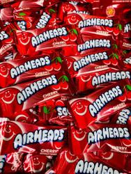 Airheads Mini Red Cherry Flavor 25 lbs CASE