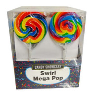 "3"" Swirly Pop Mega 24ct Pops"