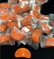 Orange Slices Hard Candy 15 LBS. CASE