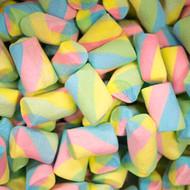 Rainbow Marshmallows  2.2 Pounds/ Bag