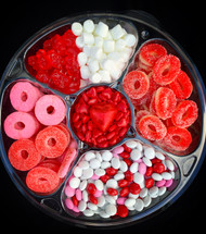 Sugar Platter Valentine's Edition   3 pounds Pink , Red & White