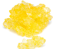 Rock Candy Yellow on String 2.5 Lbs
