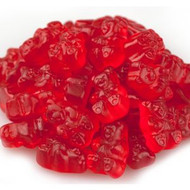 Gummy Bears Wild Cherry Red 2.5 Pounds