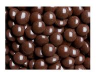Brown chocolate gems