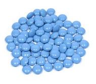 Chocolate Gems - Powder Blue 1.5 Pounds