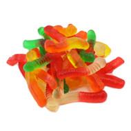 Gummy worms sweet