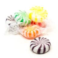Assorted pinwheel candy