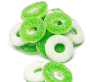 Apple Gummy Rings 5 Lbs Pounds Bag