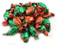Strawberry Bon Bons Candy 5 Pounds - Green & Red