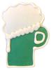 > Green Beer Mug