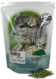 Baby Chinchilla Food