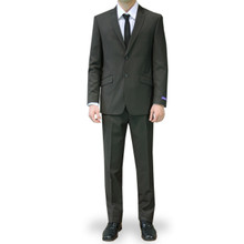 Figlio Lontano Slim Fit Suit - Dark Olive