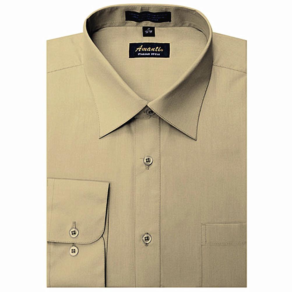 Amanti Color Dress Shirt Slim Suit Shop