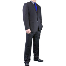 Dolce Vita Slim Fit Suit - Flat Black