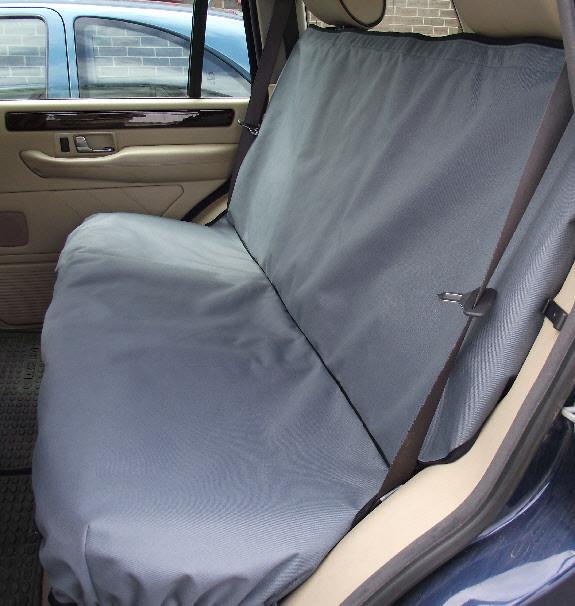 to fit Isuzu D-Max 2011 Black Titan Waterproof Car Back Seat Cover Onwards