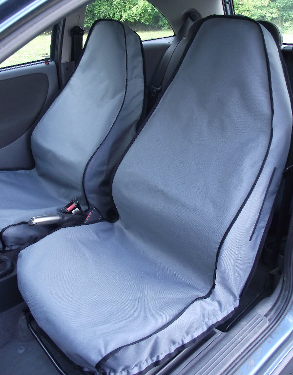 Titan Waterproof Car Back Seat Cover Grey to fit Chevrolet Captiva 2007 Onwards