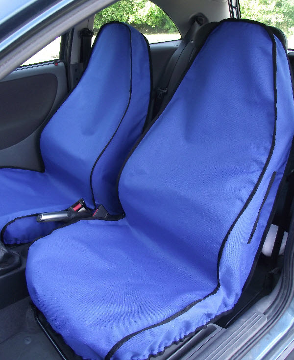 Onwards Grey to fit Citroen Grand C4 Picasso 2007 Titan Waterproof Car Front Seat Covers with Armrest Holes