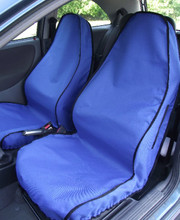 Front Seat Covers - Blue