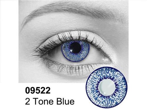 Blue 2 Tone Contact Lenses