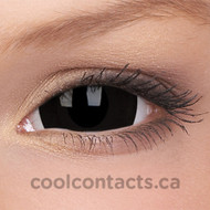 Black Titan 17mm Mini-Sclera Contact Lenses