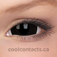 Black Titan 17mm Mini-Sclera Contact Lenses