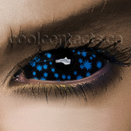 Summer Night 22mm Sclera Contact Lenses