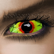 Spring Iguana 22mm Sclera Contact Lenses