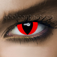 Red Cat Cool Contact Lenses