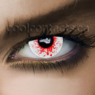 Blood Shot Drops Contact Lenses