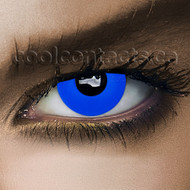 Blue Out Cool Contact Lenses