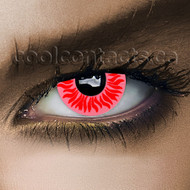 Red Solar Contact Lenses