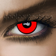 Red Mad Hatter Contact Lenses