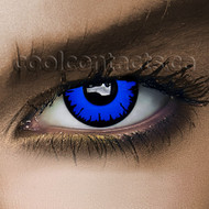 Blue Hole Cool Contact Lenses